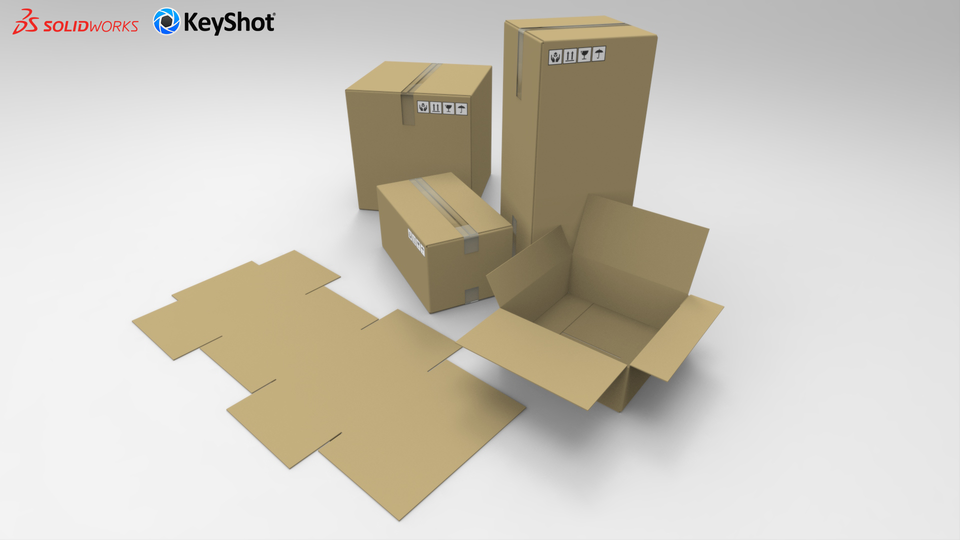 cardboard box png. cardboard box customizable solidworksstep iges 3d cad model grabcad png a