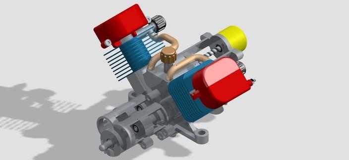 Stirling Motor Beta V2