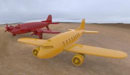 IRONCAD 2014 - DC3 Planes