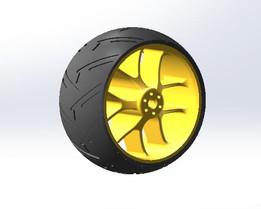 ducati rim and tire