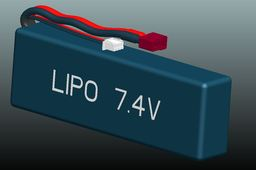 LIPO Battery 7.4V for RC Buggy