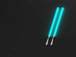 Blue Lightsabers Replica