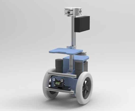 Mobile Robot Base - Wheelchair Motors and 8020