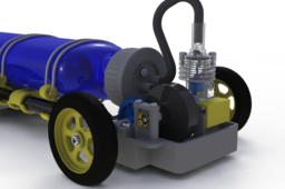 Air engine car