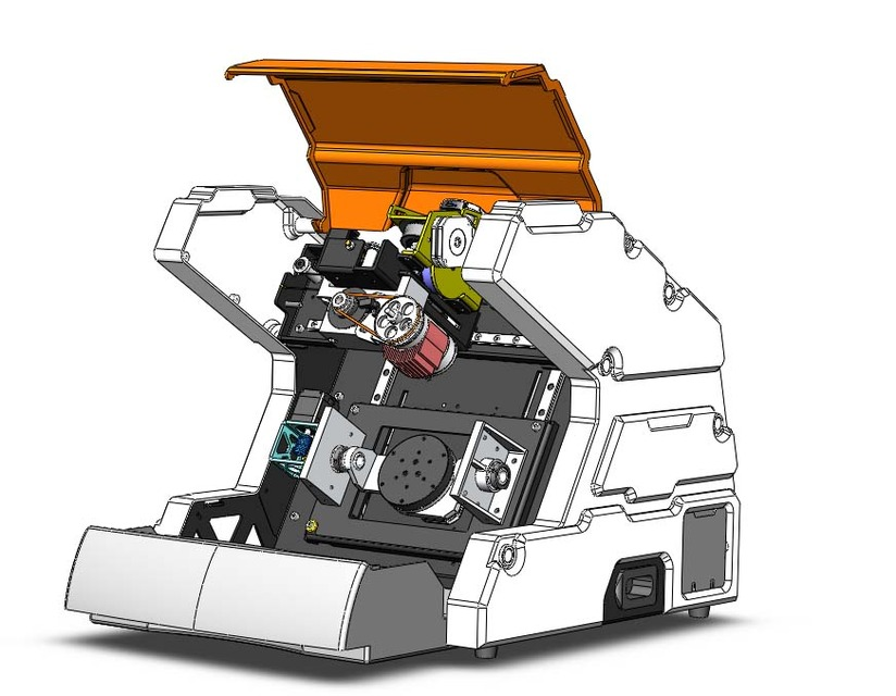 Fine 5 Axis Desktop Cnc Machining Concept Model 3D Cad Model Download Free Architecture Designs Xoliawazosbritishbridgeorg