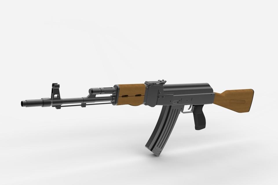AK-47 | 3D CAD Model Library | GrabCAD