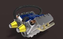 V-6 ENGINE