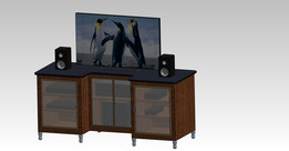 Compact led Tv stand