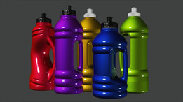 Sport Bottles designs for Metal Finished surface