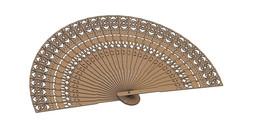 bali wooden fan