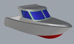 7.5 m boat