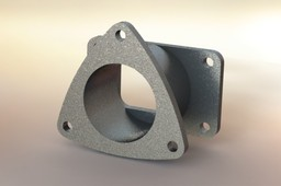 EXHAUST FLANGE ASM.