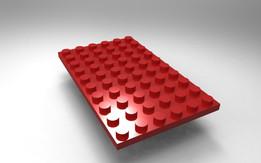 Lego 6x10 plate