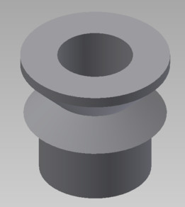 "High Misalignment Bushing 1/2"" ID for 3/4"" ID Bearing"