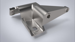 Front  mount bracket of engine (Кронштейн передней опоры двигателя)