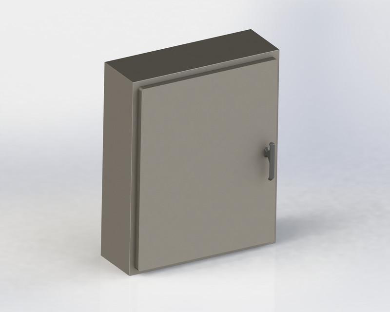 electrical cabinet solidworks 3d cad model grabcad