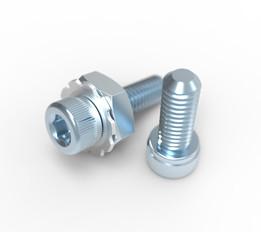 LEGO Tetrix CM6 screws and bolts