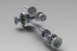 Audi Quattro 016 Gearbox