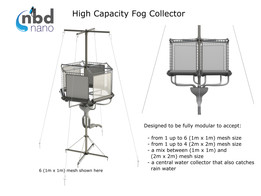 High Capacity Fog Collector