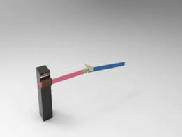 Simple Barrier Gate Mechanism