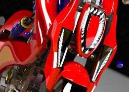 motorcycle lamboghini  swingarm