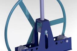 manual pipe bender rolling machine