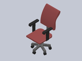 An EXECUTIVE OFFICE CHAIR - MODEL 1