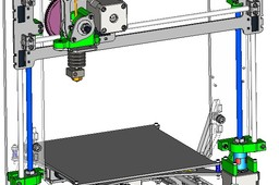 3D printer - PRUSA i3.2 LASERCUT