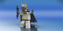 Lego Batman Minifigure - Action Pose