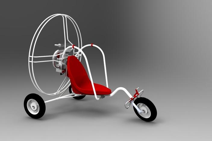 PPG Trike - SOLIDWORKS - 3D CAD model - GrabCAD