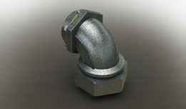 "90° sealtite elbow 1.25"" dia"