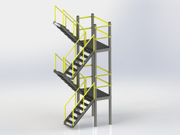 2 Level Stairs