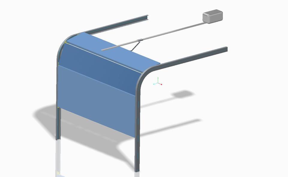 Garage Door Step Iges 3d Cad Model Grabcad