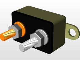 12 volt auto reset circuit breaker
