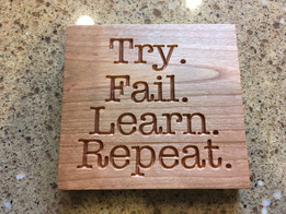 Try-Fail-Learn-Repeat