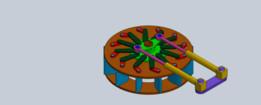 Guide Vanes ( Wicket Gate ) Mechanism ( Francis & Kaplan Turbines )