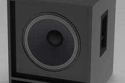 C15 400 bassreflex subwoofer cabinet