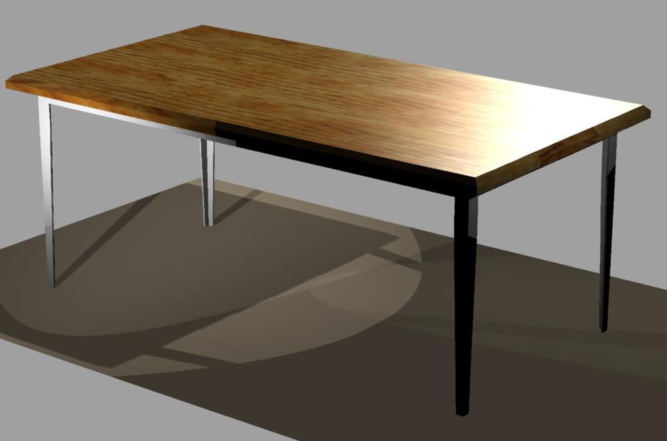 Dining Room Table AutoCAD 3D CAD model GrabCAD : large from grabcad.com size 960 x 636 jpeg 149kB