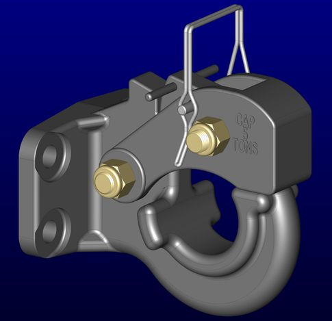 Pintle Hitch - 5-ton