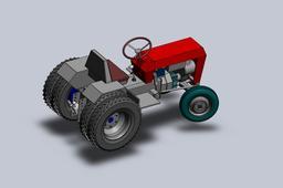 Garden Tractor LEGTRA001