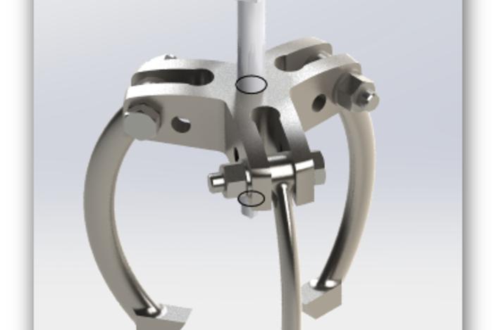 Bearing Puller Cad : Bearing puller