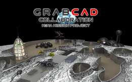 mōna mission project - GrabCAD on the moon