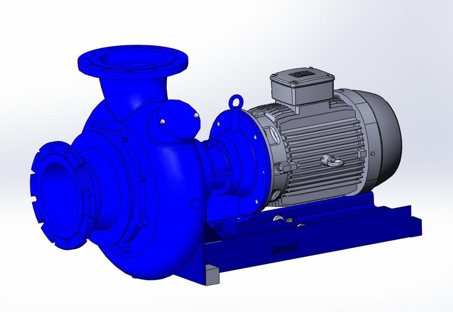 Hidrostal Pump F10K | 3D CAD Model Library | GrabCAD
