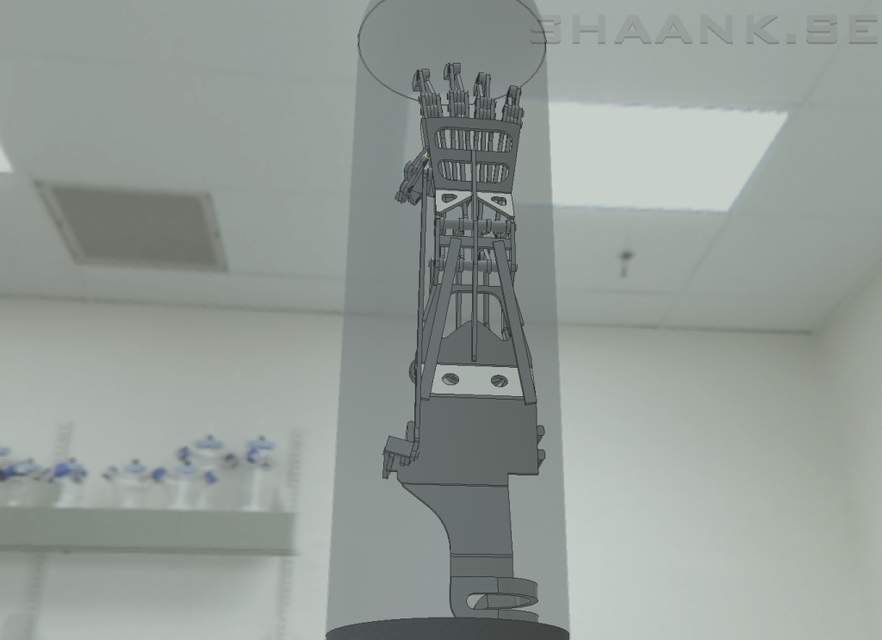Prototype Mechanical Hand | 3D CAD Model Library | GrabCAD