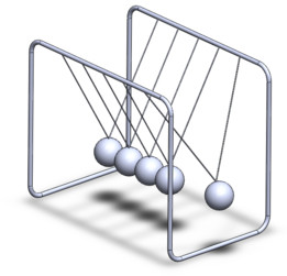 Pendolo di Newton - Newton pendulum