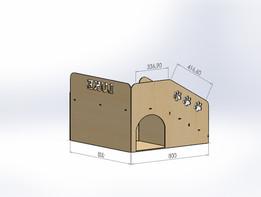bunk bed ( Beliche para cachorro )
