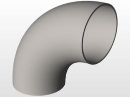 Bend S-S, 90 DIN