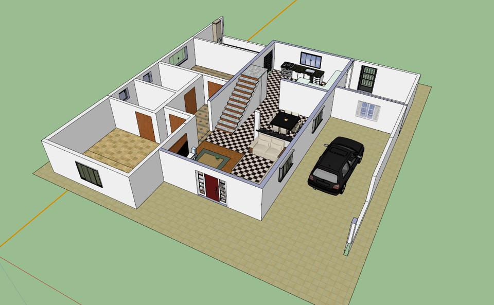 Inside House Model Images Galleries