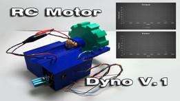 RC Motor Dyno V.1