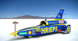 "Rocket Car ""HRIEPS"" (Blue Streak)"